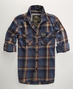 Men's Fashion - Lumberjack twill shirt from Superdry. It comes in such great colors. Moda Converse, Casual Wear, Men Casual, Twill Shirt, Mens Flannel Shirt, Plaid Shirts, Look Man, Mens Fashion, Fashion Outfits
