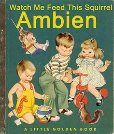 Little Golden Book -Watch Me Feed This Squirrel AMBIEN
