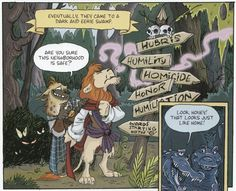 books4yourkids.com: The Stratford Zoo Midnight Review Presents: Macbeth written by Ian Lendler, art by Zack Giallongo, colors by Alisa Harris