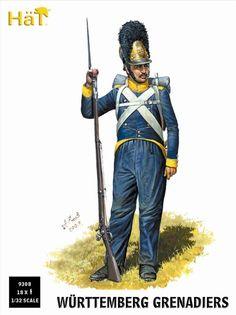 Württemberg, grenadier.