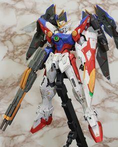 MG 1/100 Wing Gundam Proto Zero EW - Customized Build Modeled by Nataku