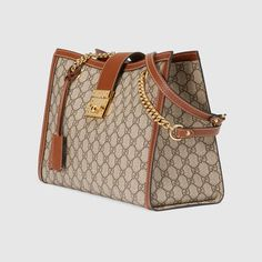 55d929c037 Padlock GG Supreme canvas shoulder bag - Gucci Women s Shoulder Bags  479197KHNKG8534