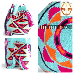 Click here to see Handmade Wayuu bag from South America's La Guajira region. This bag took almost a month for a Wayuu woman to weave with cotton thread. The weaver tells her stories through the colorful designs. The bag is known as a mochila to the Wayuu. These bags have made its way to the boho trend. $260.00 www.wayuutribe.com  #bohochic  #Handmade #Wayuutribe @HonestlyWTF