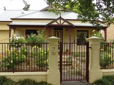 Wrought Iron Fence Styles | Fence Design Ideas - Get Inspired by photos of Fences from Australian ...