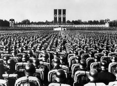Nazi. It's so hard to believe he had so many followers.