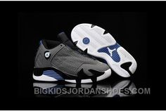 Buy 2016 Discount Nike Air Jordan 14 Retro Kids Basketball Shoes Grey Black Blue Child Sneakers Top Deals from Reliable 2016 Discount Nike Air Jordan 14 Retro Kids Basketball Shoes Grey Black Blue Child Sneakers Top Deals suppliers. Jordan Shoes For Women, Michael Jordan Shoes, Air Jordan Shoes, Puma Shoes Online, Jordan Shoes Online, Discount Jordans, Discount Nike Shoes, New Jordans Shoes, Kids Jordans