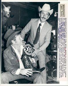 Mickey Mantle Billy Martin 1978
