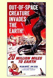 20 Million Miles to Earth (1957) - IMDb An old sci-fi movie.
