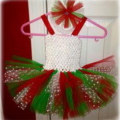 Crochet top tutu + headband