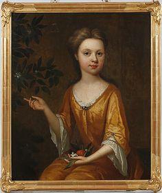 MICHAEL DAHL, efter, olja på duk, osignerad, 1700-tal.
