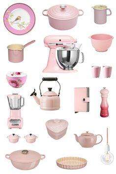 Le Creuset Kitchen Pans Pink Liances Mini Dining
