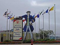 St. John is the location of Reversing Falls