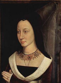 Hans Memling, Ritratto di Maria Portinari, 1470-1480 circa, olio su tavola, Metropolitan Museum (New York).