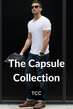 the capsule collection. #mens #fashion #style