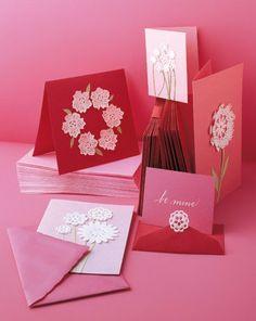 Easy Handmade Valentines day cards photos.