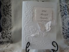 Sympathy Card Condolences Loss of Loved One by CardsbyEileen