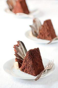 Chocolate Espresso Mousse Cakes
