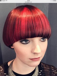 medium bob haircut 1309 best hair 3 images black hairstyles 1309 | 491e868b540955adb84728ac6b354ded red bowl bowl cut