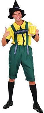 Oktoberfest fancy dress party idea - beer man costume
