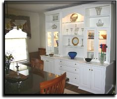Built In Buffet Cabinet Ideas