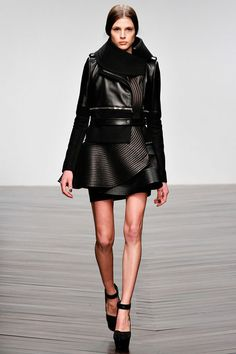 David Koma Fall 2013 Ready-to-Wear Collection Slideshow on Style.com. That is a must have jacket!