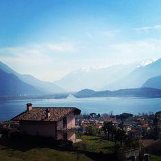 Domaso, Lake Como | #lakecomo #Lagodicomo #Italy #lakecomoapp #lakecomotravelguideapp #panorama #view #domaso