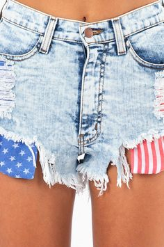Vega High Waisted Shorts . These are perf! If you know me , you know I am in love with anything American .