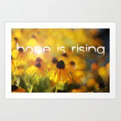 hope+is+rising++Art+Print+by+Brittney+Borowski+-+$16.95