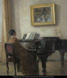 Carl Vilhelm Holsøe (Danish, 1863-1935).