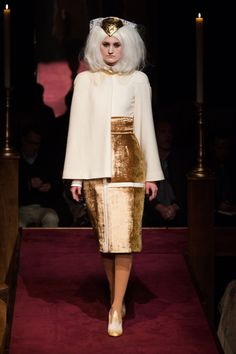 Thom Browne Fall 2014 Ready-to-Wear Fashion Show Couture Fashion, Runway Fashion, Fashion Show, Fashion Design, Fashion Fashion, Fashion Brands, High Fashion, London Fashion Weeks, Thom Browne