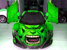 Gold rush Rally 8 wraps - Hulk. We collect and generate ideas: ufx.dk