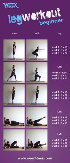 Een fitness training voor vrouwen die graag hun benen strakker en fitter willen krijgen. Je bent met dit schema altijd en optimaal bezig met een gezond leven. Je volgt alle weex training zonder het gebruik van materiaal.