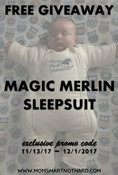 The Magic Merlin Sleepsuit is great for transitioning your baby from swaddles to a crib and can help you overcome the 4 month sleep regression.