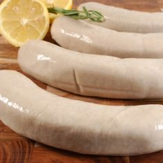 Boudin Blanc (Milk Sausage with Cognac) - 4 Links - I Cook Different How To Make Sausage, How To Cook Rice, Making Sausage, Gourmet Food Store, Gourmet Recipes, Charcuterie, Boudin Sausage, Specialty Meats, Louisiana Crawfish