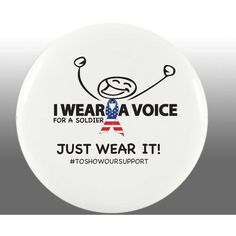 Voice For A Soldier Button