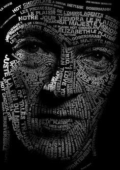 Mirrors Lyrics, Lee Jeffries, Typography, Projects, Letterpress, Log Projects, Blue Prints, Letterpress Printing, Fonts