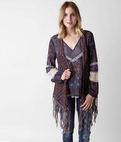 Gimmicks Open Weave Sweater Vest - Women's Vests   Buckle