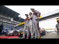DTM Lausitzring 2014 - Zusammenfassung Qualifikation // Beim achten Lauf der DTM am Lausitzring wird Pascal Wehrlein (Mercedes) von der Pole starten. Ihm folgen die Audi Piloten Matias Ekström und Jamie Green auf Platz zwei und drei.