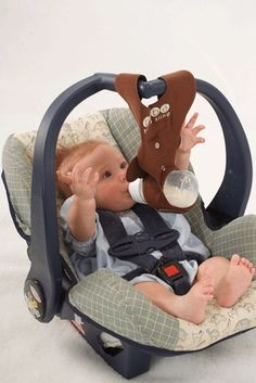 Amazon Brown Monkey Baby Bottle Holder For Hands Free Feeding By Bebe