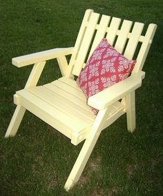 painted patio furniture