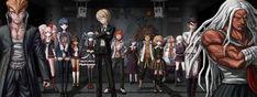 Danganronpa 1, Danganronpa Characters, Danganronpa Trigger Happy Havoc, Nagito Komaeda, Darth Vader, Fandoms, Animation, Gallery, Anime
