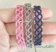 Bff Bracelets, Bracelet Knots, Bracelet Crafts, Handmade Bracelets, Friendship Bracelets, Macrame Knots, Macrame Jewelry, Macrame Bracelets, Diy Jewelry