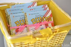 We threw my daughter, Violet, a Dumbo themed birthday party last week! It was so fun, and I had a great time creating this party the. Dumbo Birthday Party, Circus Birthday, 4th Birthday Parties, Boy Birthday, Birthday Ideas, Circus Party Favors, Circus Carnival Party, Circus Wedding, Carnival Costumes