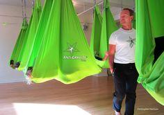 Christopher Harrison - Creator of AntiGravity Aerial Yoga  Teacher Training NYC