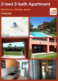 2-bed 2-bath Apartment in Benahavis, Malaga, Spain ►€190,000 #PropertyForSaleInSpain
