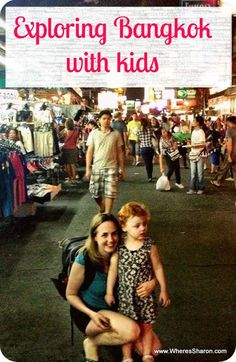 I have been to Bangkok and love it, BUT I can not imagine going there with kids... Still maybe I'll reconsider sometime and then this will be GREAT! All about exploring Bangkok with kids http://www.wheressharon.com/travel-with-kids-se-asia/family-fun-in-bangkok/