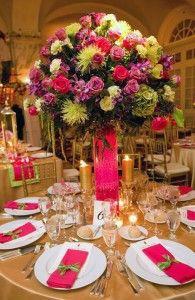 Beautiful centerpiece from Off Broadway Florist of Astoria, New York