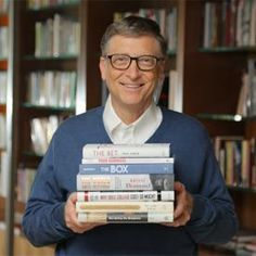 7 Books Bill Gates Thinks You Hein? rsrs - Should Read Bill Gates is a busy man, but he still has time for reading. Check out his favorites from Chandra Steele December 2013 Love Reading, Reading Lists, Book Lists, I Love Books, Great Books, Books To Read, Microsoft, Jack Ma, What Book
