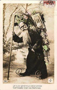 Bonhomme-noel - origen de Papa Noel http://mochileros.org/nelson/quien-es-santa-claus/