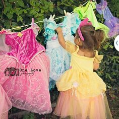 Princess Laundry Cute photo shoot for a toddler. I would love to this with my nephew and superhero's.